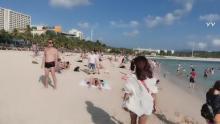 沙滩比基尼大派对
